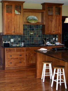 Designer Mission Style Kitchens | Larger Kitchen Was An Update For This  Homeowner Who Had Older