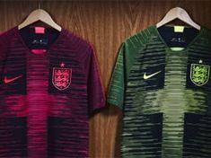 England Nike 'Remix' Prematch Shirts