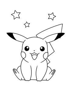 pikachu ausmalbild