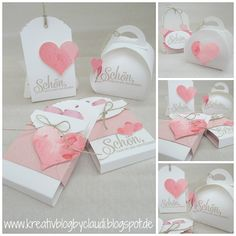 Kreativ Blog by Claudi: Hochzeit-Goodies