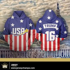 Available to purchase!: Trump USA 2016 Ho... Check it out here!!! http://jerseychamps.com/products/copy-of-trump-usa-2016-sweatshirt-hoodie?utm_campaign=social_autopilot&utm_source=pin&utm_medium=pin