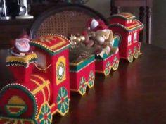 Resultado de imagen para tren navideño decorativo
