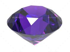 Gemstone 3d Render by gorbovoi81 Gemstone isolated on white background. 3D render. Include JPG and transparent PNG
