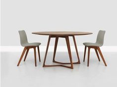 Round wooden table TWIST | Round table - ZEITRAUM