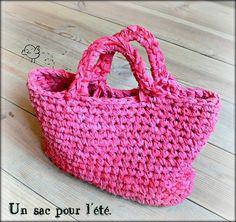 sac au crochet - crochet bag - bolso ganchillo