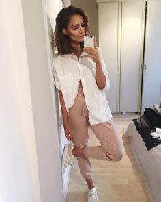// Pinterest @esib123 // #style #inspo #fashion whiteb button down