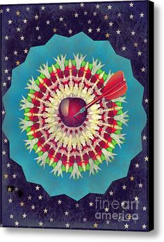 Seduction  Canvas Print / Canvas Art By Eleni Mac Synodinos