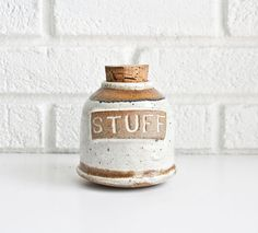 // vintage jar from kibster in my new ETSY BLOG post: http://www.etsy.com/blog/en/2012/storyboard-lunch/