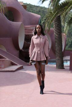 Christian Dior Resort 2016 Fashion Show - Leila Nda