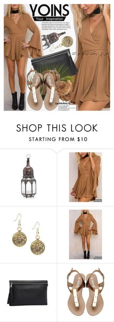 """""""YOINS: Crystal desert rose"""" by an1ta ❤ liked on Polyvore"""