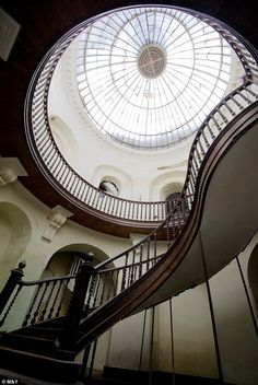 Castle Goring - Stunning Staircase and Domed Ceiling