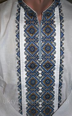 Palestinian Embroidery, Hand Embroidery, Cross Stitch Patterns, Birthday Gifts, Hand Painted, Mens Fashion, Beads, Blazers, Handmade
