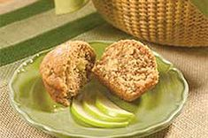 Apple-Cinnamon Muffins recipe  yum, yum, yummy, AND  kid friendly----what can be better than that??????