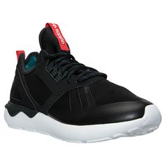 Men's adidas Originals Tubular Runner Reflective Weave Casual Shoes - S82651 BLK | Finish Line
