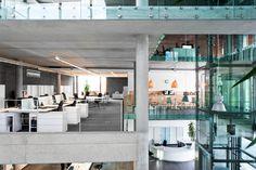wnętrza biurowe  projekt: www.studiotf.pl
