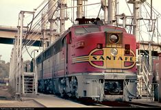 RailPictures.Net Photo: 77 Atchison, Topeka & Santa Fe (ATSF) Alco PA-1 at Kansas City, Kansas by Bill Marvel