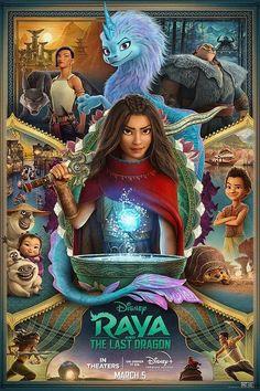 Printable Activities Featuring Disney's Raya and the Last Dragon Disney Films, Disney Pixar, Disney Wiki, Walt Disney Animation Studios, Films Hd, Warrior Names, Dragon Movies, Bon Film, New Poster