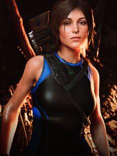 Lara Croft in her last adventure SOTTR Lara Croft Game, Tomb Raider Lara Croft, Tomb Raider Video Game, Tom Raider, Tomb Raider 2018, Laura Croft, Rise Of The Tomb, Mileena, Video Game Characters