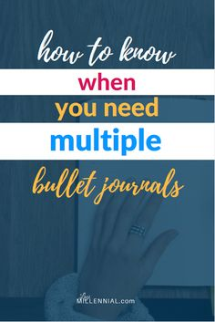 These are the 4 reasons I decided to buy another bullet journal. Ask yourself these 4 questions to figure out if you might need more than one journal. #bulletjournal #bujo #startabulletjournal #multiplebulletjournals #multiplejournals #morethanonejournal #morethanonebujo #multiplebujo #bujoorganization #bulletjournalorganization #bujospreads #bulletjournalsupplies