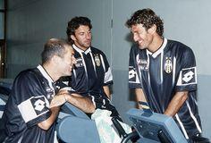 Zidane, Del Piero and Ciro Ferrara.