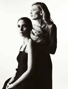 Cate Blanchett and Rooney Mara by Patrick Fraser, 2016