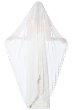 Selene Sequin Veil