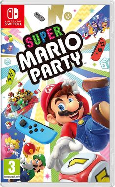 Nintendo Switch Super Mario Party Video Game Minigames Packed for sale online Super Mario Bros, Super Mario Party, Nintendo Switch Super Mario, Mario Party Games, Buy Nintendo Switch, Nintendo Switch System, Super Nintendo, Mario Switch, Nintendo Eshop
