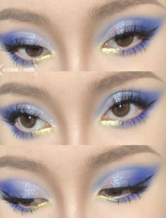 Edgy Makeup, Makeup Eye Looks, Eye Makeup Art, Cute Makeup, Pretty Makeup, Eyeshadow Makeup, Makeup Inspo, Makeup Inspiration, Beauty Makeup