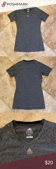 Adidas Climalite shirt My favorite workout shirt it's just too small now In great condition adidas Tops Muscle Tees