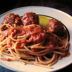 Anne Burrell's Spaghetti and Meatballs