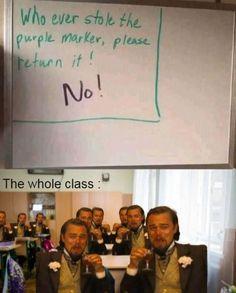 Funny School Jokes, School Memes, Crazy Funny Memes, Funny Puns, Really Funny Memes, Stupid Funny Memes, Funny Laugh, Funny Tweets, Funny Relatable Memes