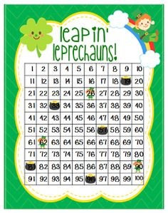 Here's a St. Patrick's day themed game for practicing doubles and doubles+1 facts.