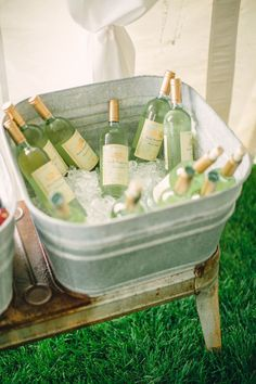 Wine Bucket Chiller Marble Wine Bucket With Stand Outdoor Wine Presents, Make Your Own Wine, Wine Bucket, Wine Reviews, Wine Making, Wedding Gallery, Rustic Chic, Wines, Style Me