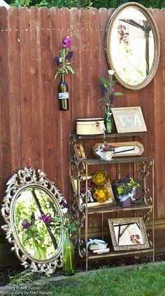 Pretty ideas for outdoor tea party
