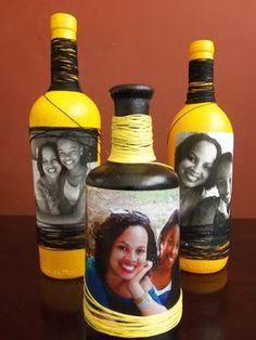 Decorative Bottles :     Essas nossas garrafas . . . novamente aqui estão elas! Elas nos fazem brincar de artistas! Nesta postagem resolvemostrabalhar com tint…    -Read More –