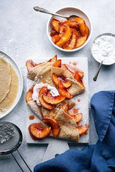 Simple Oat Crepes |