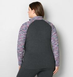 Spacedye Colorblock Active Jacket - Avenue