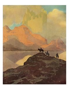 City of Brass Giclee Print by Maxfield Parrish at Art.com