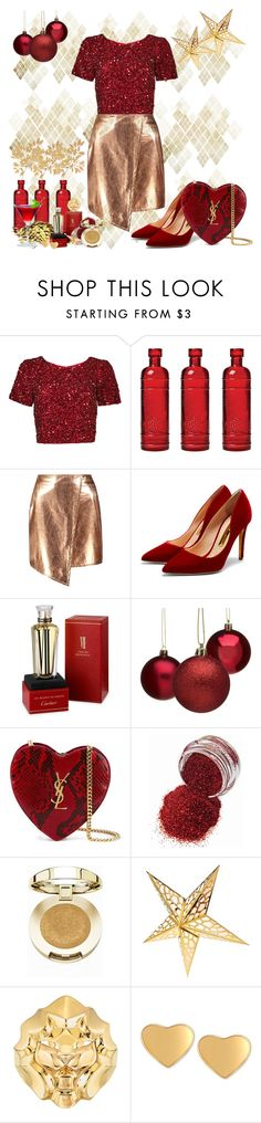 """""""Sem título #40"""" by anahcamilo on Polyvore featuring moda, Parker, Cultural Intrigue, Boohoo, Rupert Sanderson, Cartier, Yves Saint Laurent, Milani, Chanel e T Tahari"""
