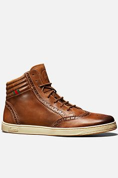 Gucci Men's wingtip sneakers