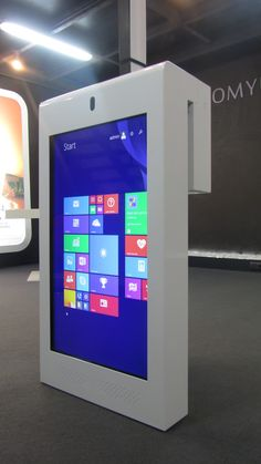 If you need to hang it in a window, we can develop it ! Interactive Kiosk for store, by PARTTEAM & OEMKIOSKS. See more at www.oemkiosks.com