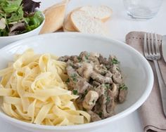 quick pepper steak stroganoff - wonderful