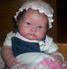 Sucky face reborn doll | Big Baby Berenguer Sucky Face Reborn Doll OoAk 20 Blue Eyes Dark