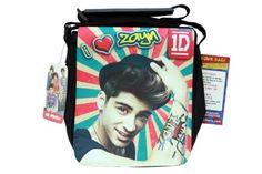 One Direction Small CrossBody Bag, Zayn Malik in Retro One Direction Gifts, Zayn Malik, Small Crossbody Bag, You Bag, Lunch Box, Amazon, Retro, Bags, Products