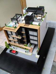 Discover recipes, home ideas, style inspiration and other ideas to try. Concept Models Architecture, Maquette Architecture, Architecture Model Making, Facade Architecture, Residential Architecture, Home Building Design, Building A House, Building Exterior, House Design