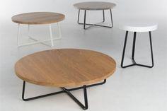 Fuse salontafel van Bert Plantagie - #deruijtermeubel #coffeetable #steel #wood
