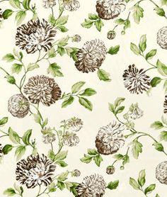 Waverly Charlotte Walnut Fabric