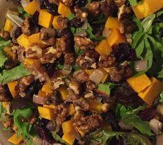 Recipe: Autumn-Inspired Salad | Think Tasty #recipe  #salad #fall