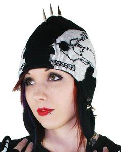 Trapper Hat - Skull