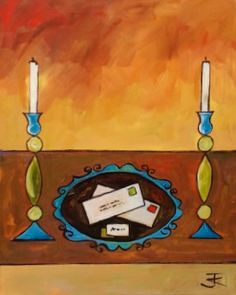 www.codagallery.com | Did it in the Hallway by Kathleen Keifer | Acrylic on Canvas #clue #boardgames #fineart
